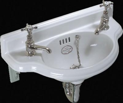Подвесная раковина для санузла от Thomas Crapper