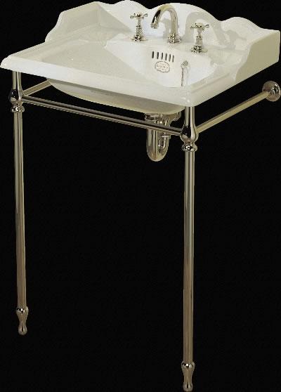 Классическая раковина с подстольем от Thomas Crapper