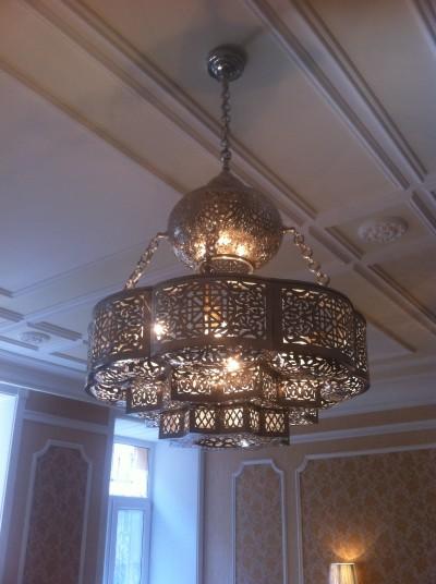 Люстра в восточном стиле от Royal interiors