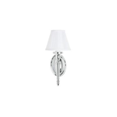 Декоративный светильник с белым абажуром из шелка от ARCADE