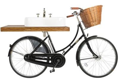 Велосипед Pashley с 600мм раковиной и сифоном от ARCADE