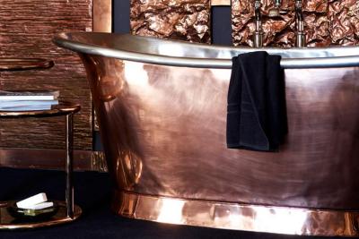 Медная ванна от Catchpole & Rye