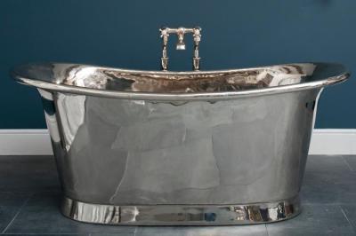 Никелированная ванна от Catchpole & Rye