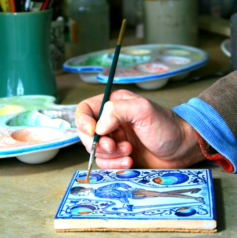 keramika рисование