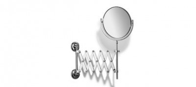 Выдвижное косметическое зеркало с х5 увеличением Curzon от Samuel Heath