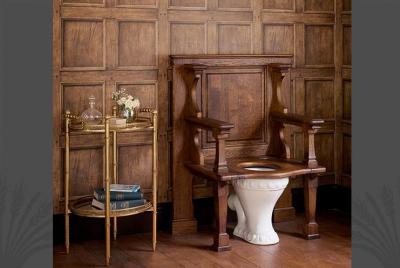 Сиденье для унитаза The Throne seat от Catchpole & Rye